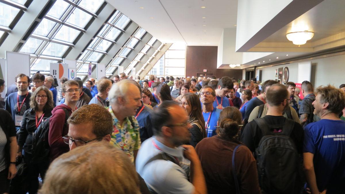 IMG 0267 - Communautique/échoFab et Procédurable participent à Wikimania 2017