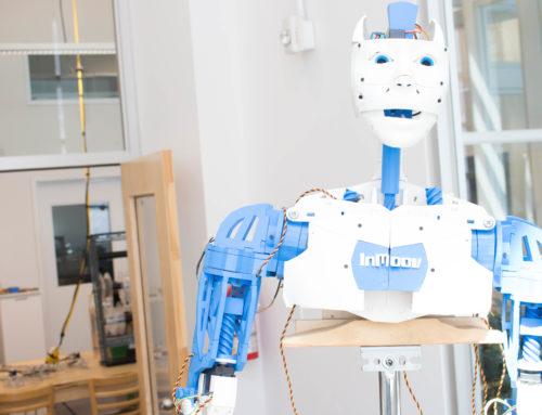 InMoov, le robot humanoïde
