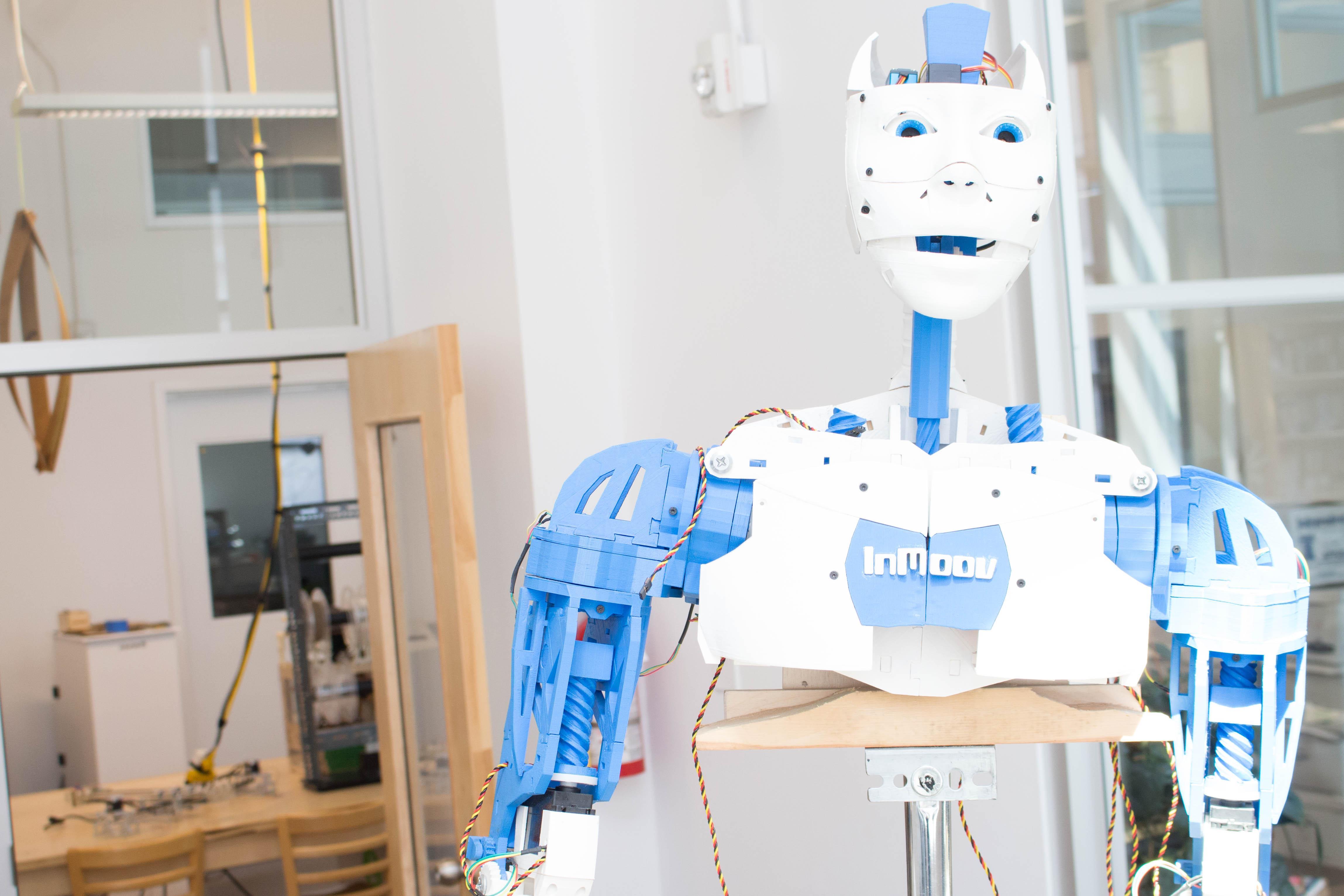 InMotion - InMoov, le robot humanoïde