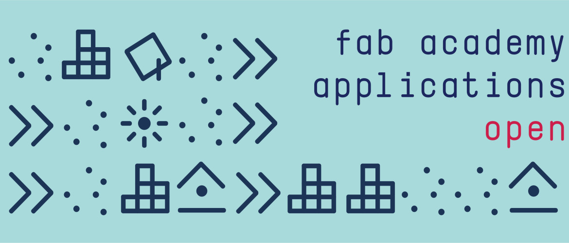 banner applications open 2018 FabAcademy - Fab Academy 2018